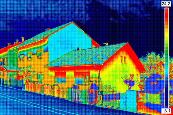 Infrared Tools Pinpoint Heat Loss in Roof Inspections